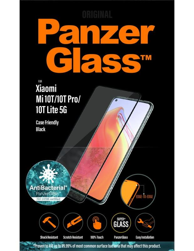 Ochranné sklo displeje PanzerGlass Edge to Edge pro Xiaomi Mi 10T Pro/Mi 10T 5G, černá