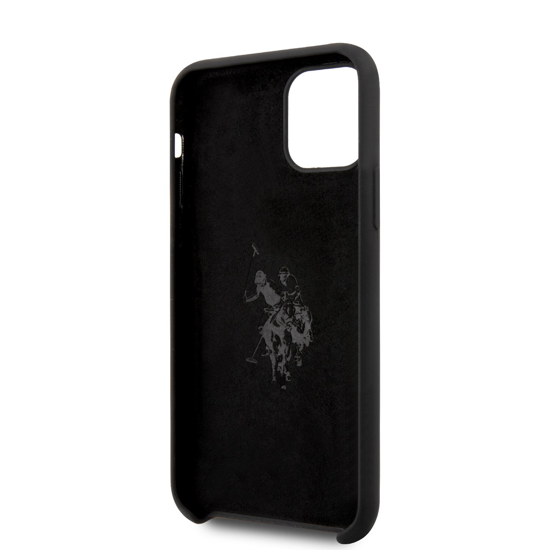 Silikonový kryt USHCP12MTPUHRBK U.S. Polo Big Horse pro Apple Phone 12/12 Pro 6.1, black