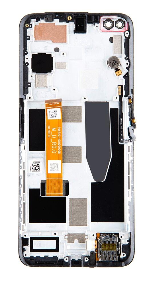 LCD Display + Dotyková Deska + Přední Kryt pro Realme X50 M (Service Pack)