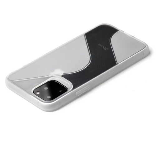 Kryt ochranný Forcell S-CASE pro Apple iPhone 11 Pro Max , čirý