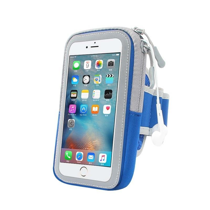 """Pouzdro na ruku Zipper 6.0"""", modrá"""