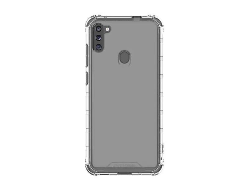Silikonové pouzdro M Cover GP-FPM115KDATW pro Samsung Galaxy M11, transparentní
