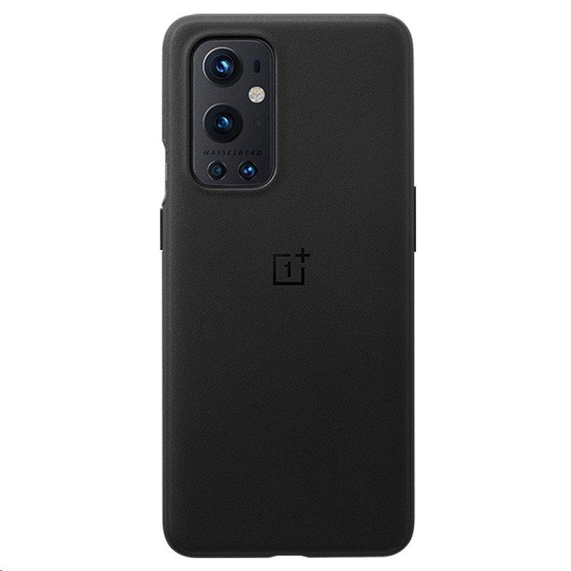Kryt Sandstone Bumper pro OnePlus 9 Pro, černá