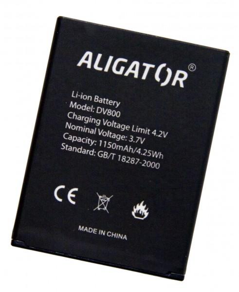 Baterie ALIGATOR DV800, Li-Ion 1150 mAh, originální