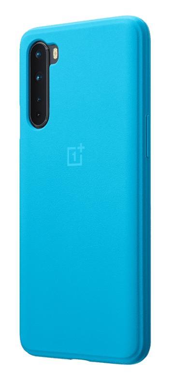 Kryt Sandstone Bumper pro OnePlus Nord, modrá