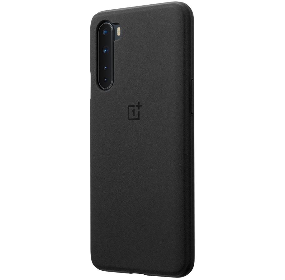 Kryt Sandstone Bumper pro OnePlus Nord, černá