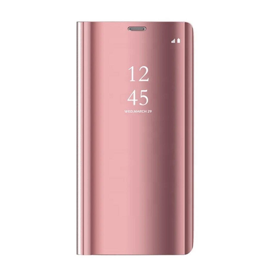 Cu-Be Clear View flipové pouzdro pro Xiaomi Redmi 9C, pink