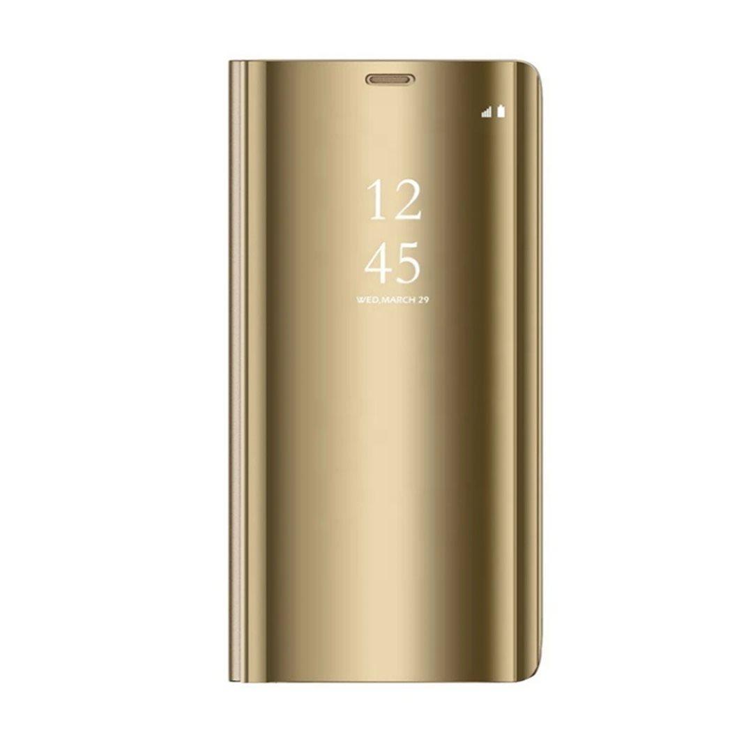 Cu-Be Clear View flipové pouzdro pro Xiaomi Redmi 9C, gold