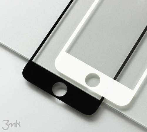 Tvrzené sklo 3mk HardGlass Max Lite pro Realme C21, černá