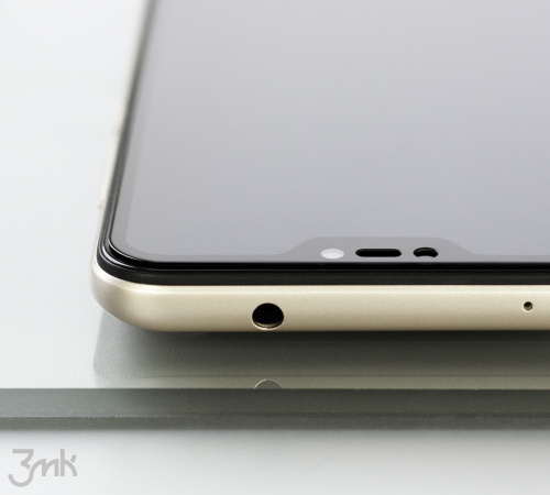 Tvrzené sklo 3mk HardGlass Max Lite pro Realme 8 5G, černá
